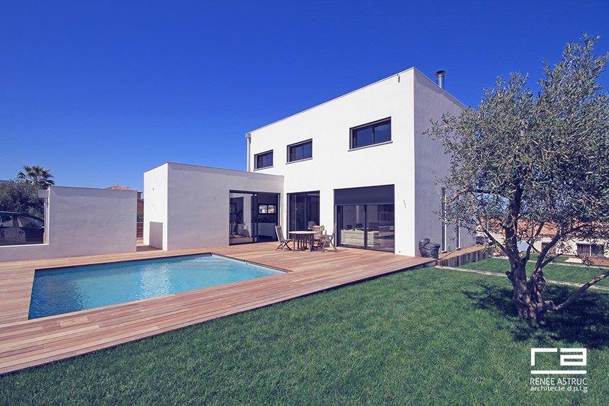 Maison DR à Sigean avec Renée Astruc, architecture et paysage