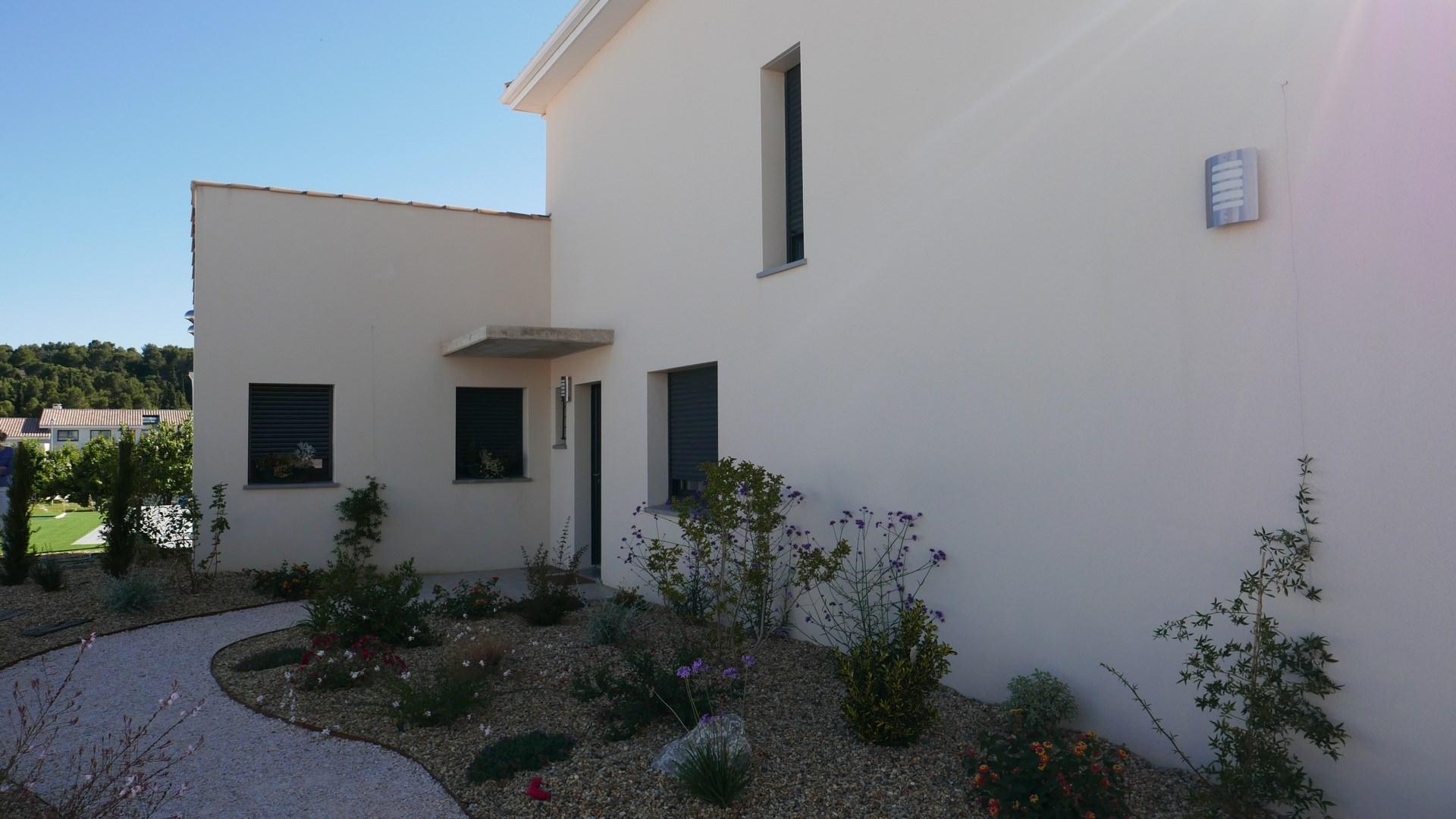 Maison S à Narbonne avec Renée Astruc, architecte et maître d'œuvre